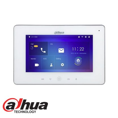 """Indoor 7"""" Touch Screen LCD Monitor with WIFI DHI-VTH5221D"""