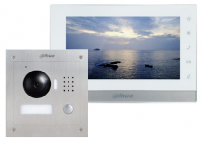 DHI-VTO2000A camera module and the wired 7inch touch screen monitor