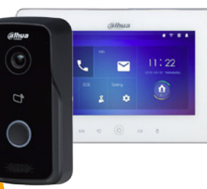 Wireless door entry control unit