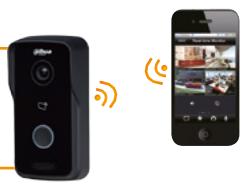 Wireless door entry with smartphone