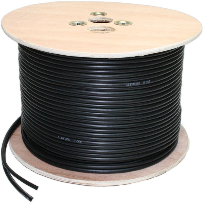 Roll of CCTV Cable - RG59 and Power