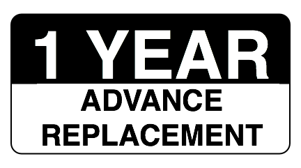 1 YEAR ADVANCE REPLACEMENT