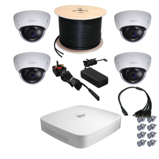 4 Channel 720P HDCVI Kit from Northwest Security