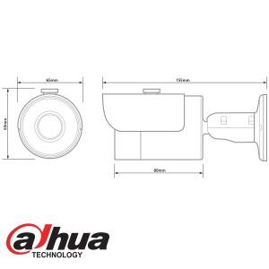 DAHUA HDCVI 1080P IR BULLET CAMERA LITE SIZE HAC-HFW1200S-360
