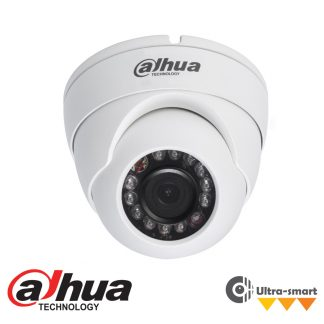 DAHUA IP 1.3MP IR SMART DOME CAMERA - 2.8MM LENS IPC-HDW4120M-280