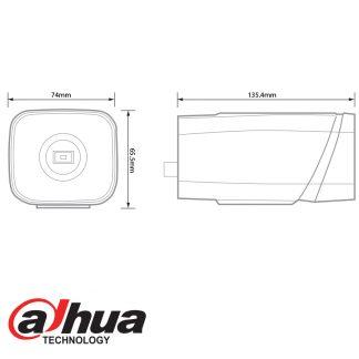 DAHUA IP 3MP WDR ULTRA-SMART BODY CAMERA IPC-HF8301E