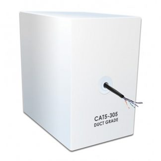 CAT-5E Duct Grade Screened Cable 305m Box