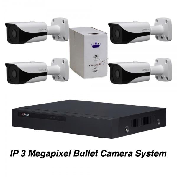 IP 3 Megapixel Bullet Camera System