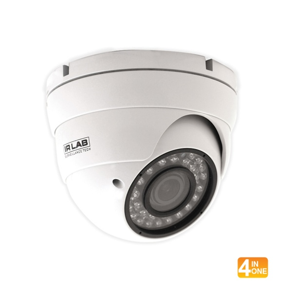 IRLAB HDCVI 4 IN 1 1080P IR DOME 2.8-12MM MOTORISED LENS Part No- CIR-DR46GRC-W FROM NORTHWEST SECURITY