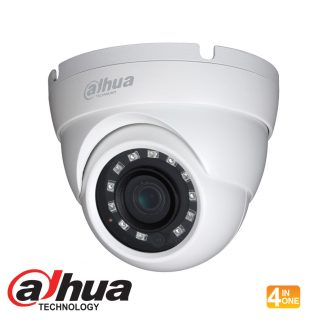 DAHUA HDCVI 4 IN 1 720P IR EYEBALL CAMERA - 3.6MM LENS HAC-HDW1100MP-S3-360