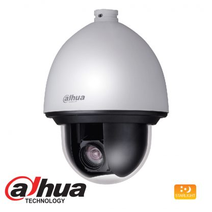 DAHUA HDCVI 1080P STARLIGHT PTZ DOME CAMERA 25X ZOOM SD60225I-HC