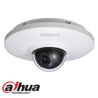 DAHUA IP 3MP MINI PAN TILT DOME CAMERA - 3.6MM LENS IPC-HDB4300F-PT SIZE