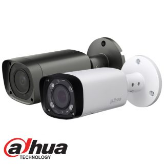 DAHUA IP 4MP IR BULLET CAMERA - 2.7-12MM MOTOR LENS Part No: IPC-HFW2421R-ZS-IRE6