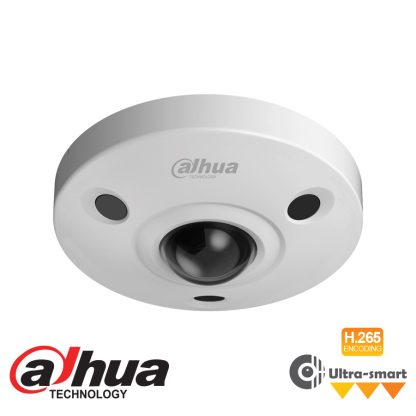 DAHUA IP 6MP FISHEYE CAMERA - 1.7MM LENS IPC-EBW8630