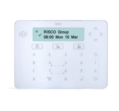 RPKELPWT000A -Risco White Elegant keypad with proximity