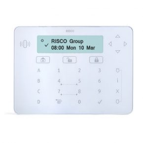 Elegant keypad with proximity