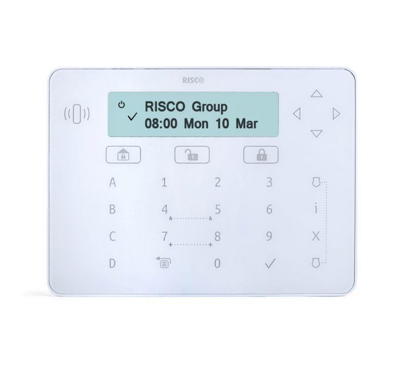 RPKELPWT000A -Risco White Elegant keypad with proximity