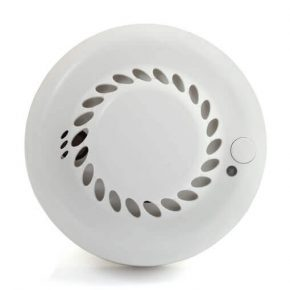 Wireless smoke & heat detector