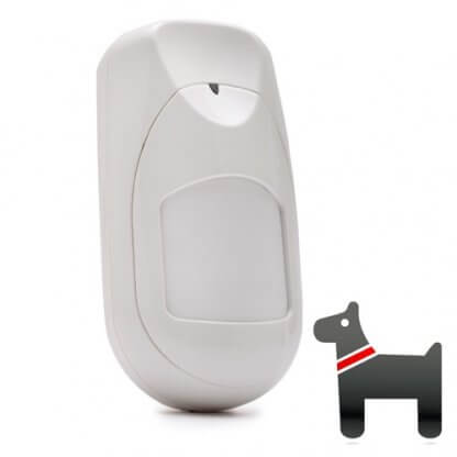 RWX95DTP800B - Risco iWAVE 15m wireless dual tech 2-way pet PIR